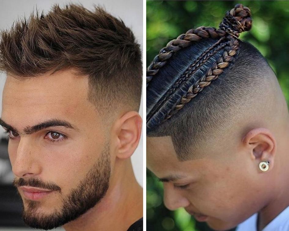 Coupe coiffure pour homme noir