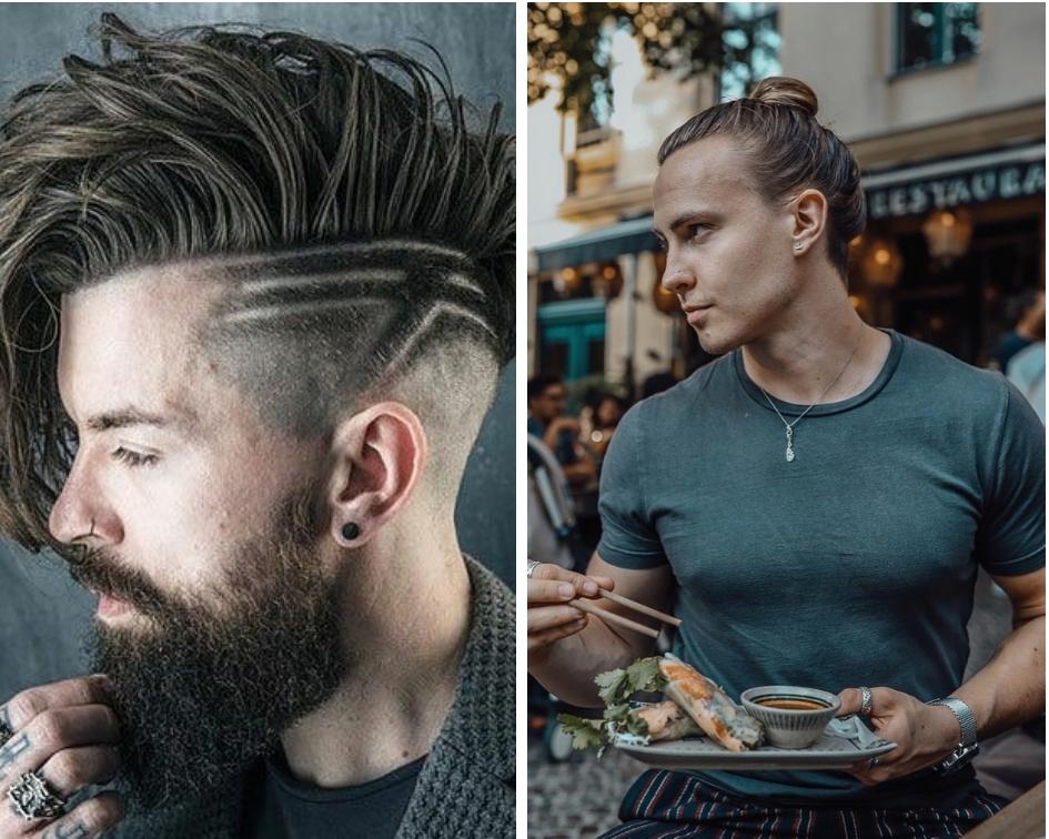 Cheveux long homme 2019 pour craquer les filles