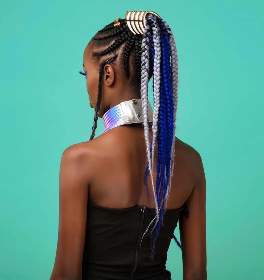 Luxueuse coiffure tressée: Tresse volumineuse