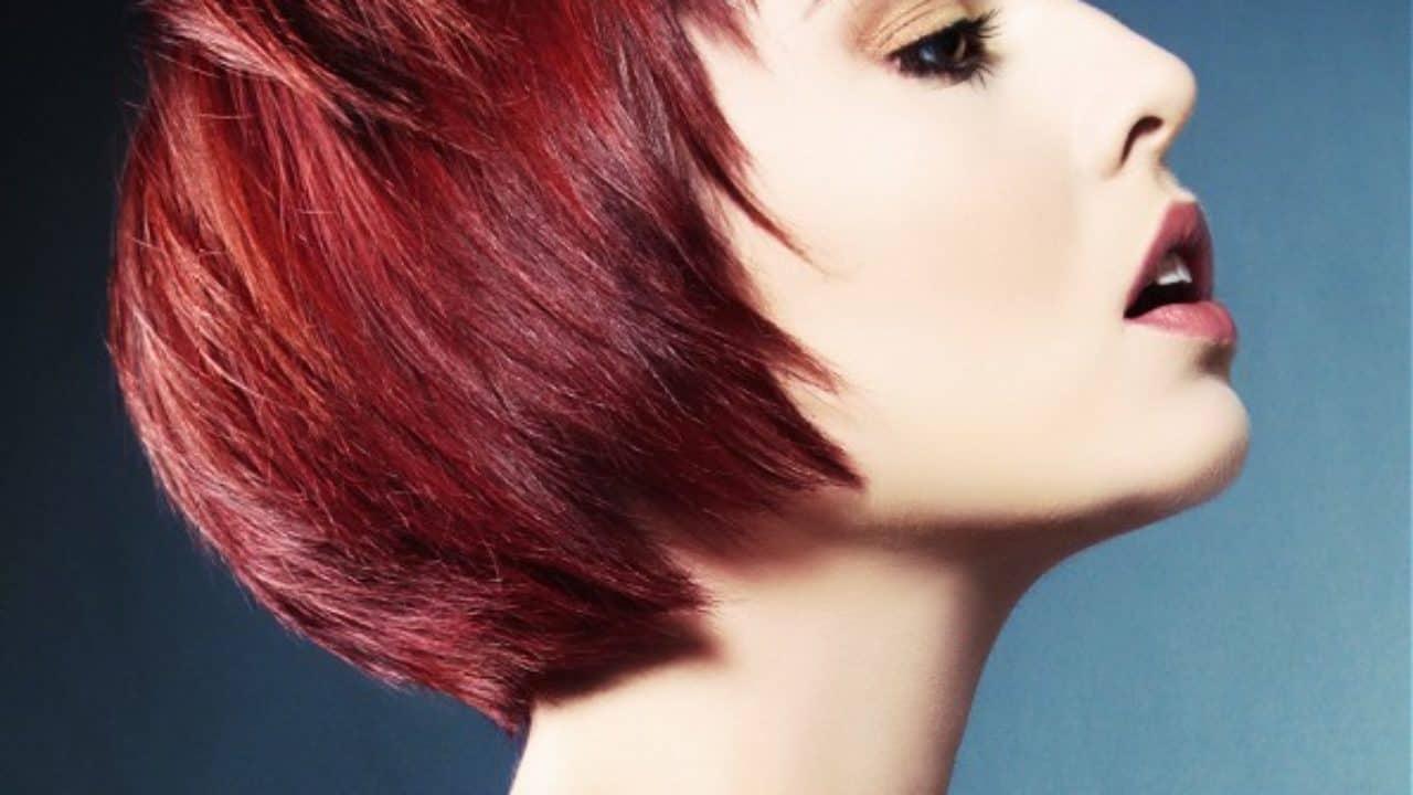 Tendances des coiffures rouges