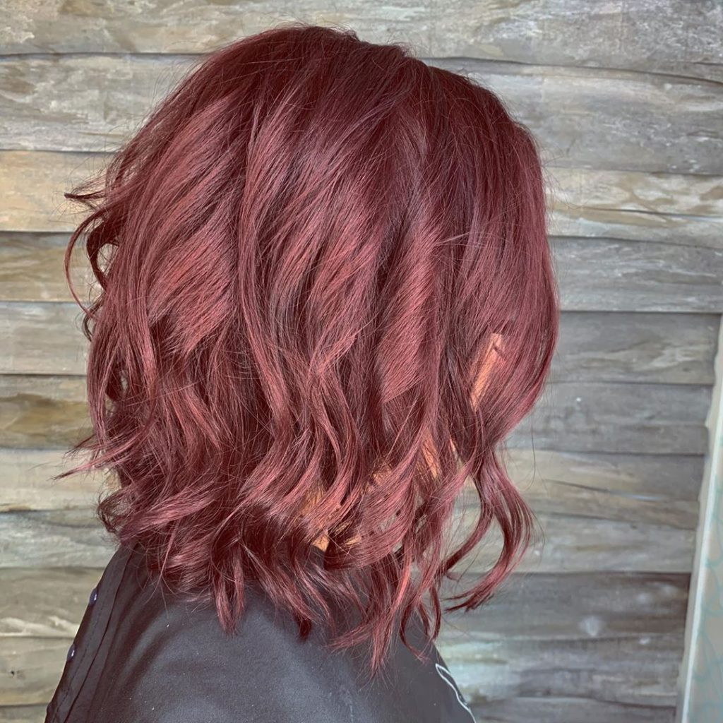 Nuances de coiffures rousses pour l'hiver