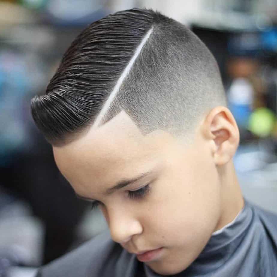 Coupe de cheveux branchés pour garçons 2021: Coupe Dapper