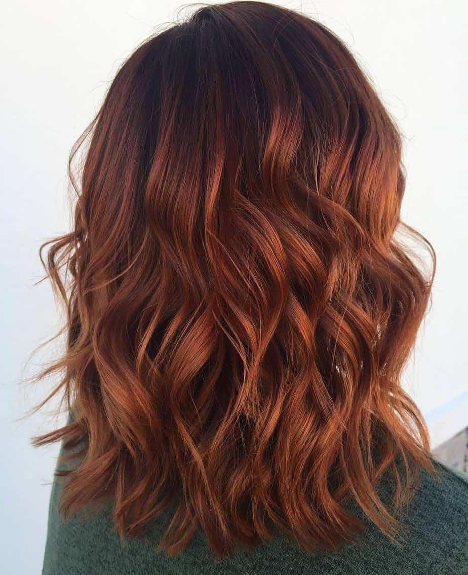 Couleur de cheveux tendance exclusive 2021: Orchard rouge luxueux