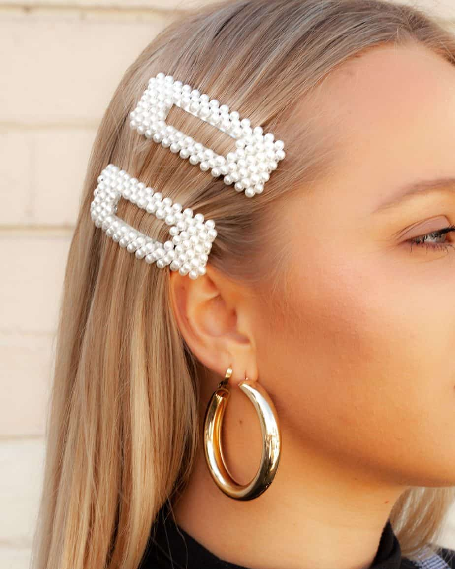 Accessoires de coiffure tendance en 2021 : Pinces à cheveux